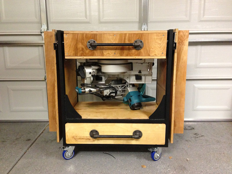 miter saw stand diy portable