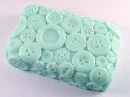 button soap mold