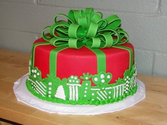 73 Inspiring Christmas Cake Decoration Ideas