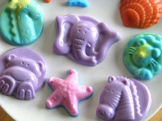 elephant animal soaps