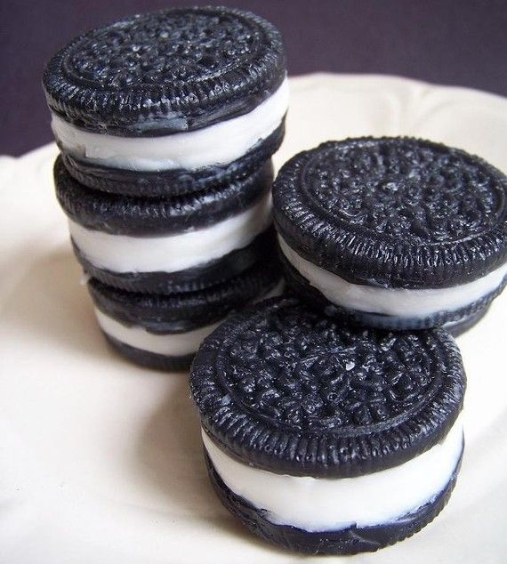 oreo cookie soap