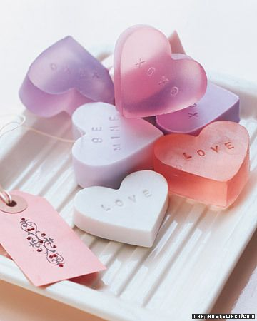 stamped heart molds